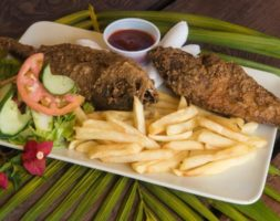 Deep Fried Whole Fish