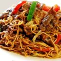 Beef Chow Mein (Beef & Vegetables Only. No Noodles)
