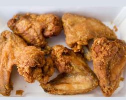 Fried Chicken Wing Lunch (Lunch Only 11am- 2:30pm)