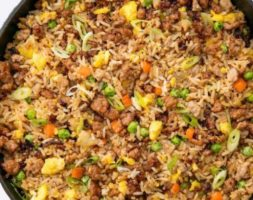 Large Pork Fried Rice