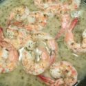 Shrimp in Ginger & Garlic Sauce