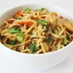 Vegetable Chow Mein (Vegetables Only. No Noodles)