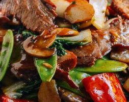 Beef with Chinese Vegetables
