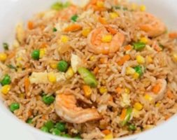 Large Shrimp Fried Rice