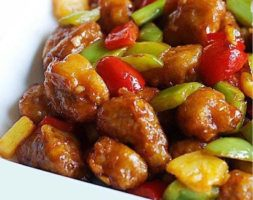 Sweet & Sour Pork Combination Meal