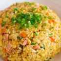 Japanese Style Chicken Fried Rice