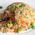 Japanese Style Vegetable Fried Rice