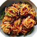 Mixed Vegetables Yaki Soba (Stir Fry Noodles)