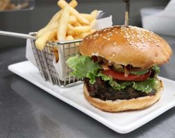 Lavo Burger With Fries