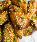 Chicken Teriyaki Wings (2:30PM)