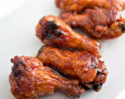 Fried BBQ Wings (2:30PM)