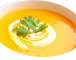 Ginger Pumpkin Soup (Dinner 6:00PM)