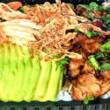 Chicken Teriyaki Poke Bowl