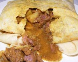 Beef Roti (Lunch Only 11am- 3pm)