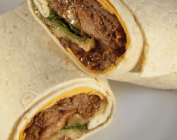 Funky Pulled Pork Wrap