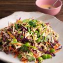 Crunchy Vegetable Peanut Cole Slaw
