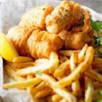 Fish and Chips Plate