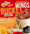Wings Bucket Special