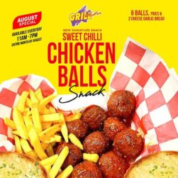 Sweet Chilli Chicken Balls Snack