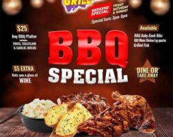 BBQ Speical (Only on Friday, Saturday & Sunday 3PM-9PM)