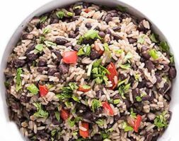 Black Beans and Rice Bowls