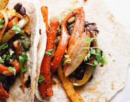 Vegetables Fajitas
