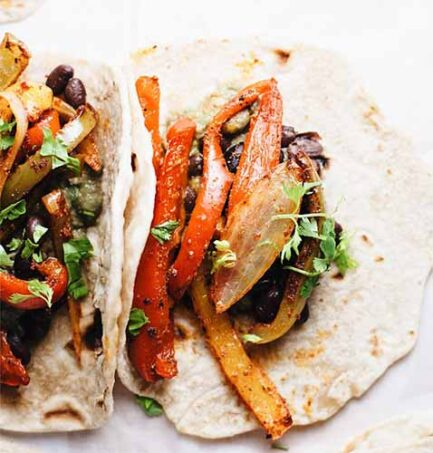 Vegetarian Fajita Recipe 3