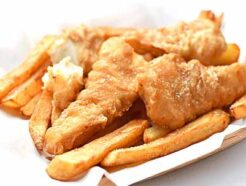 crispy fish fries