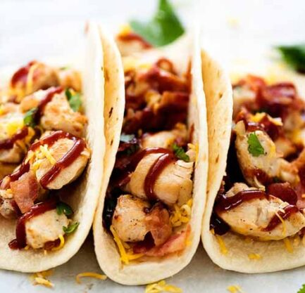 BBQ Chicken Bacon Tacos3