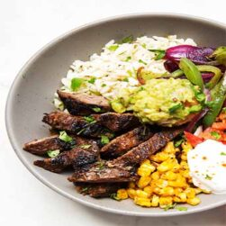 Beef Fajitas Lunch (Lunch Only 11am- 2:30pm)